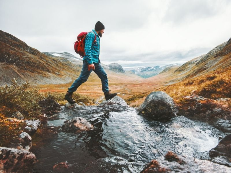 Hiking in the wilds - Camperversions